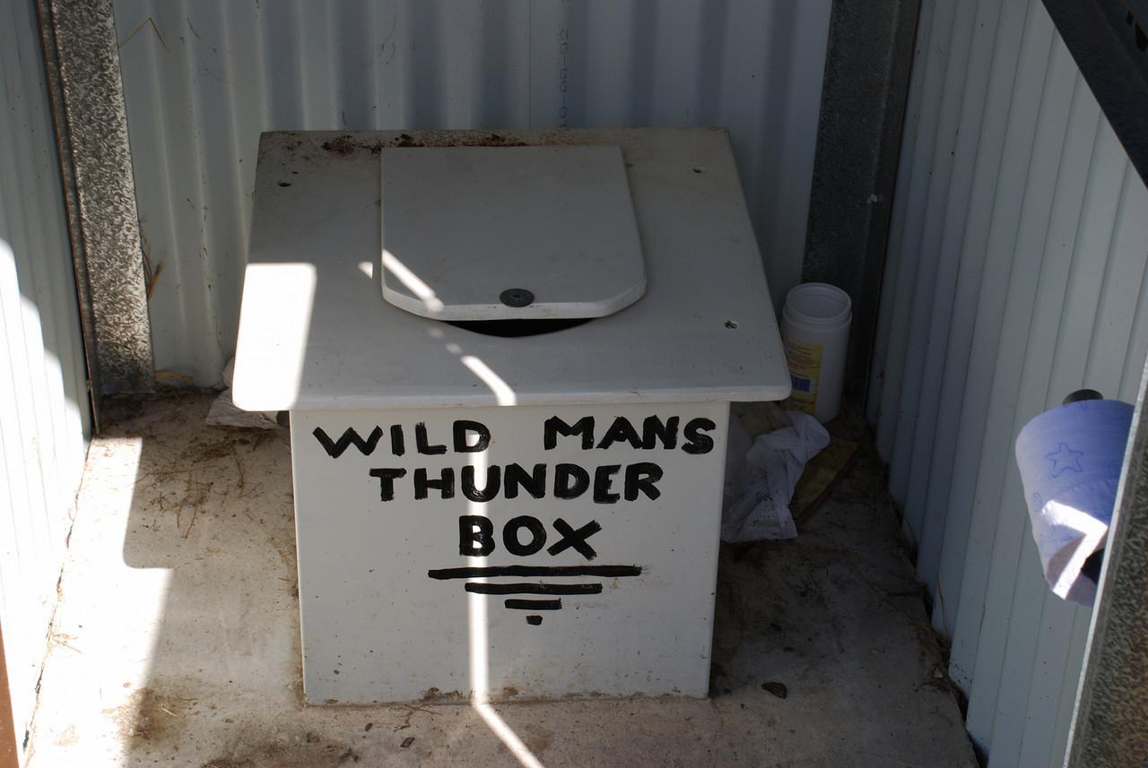 Wild Mans Hut dunny