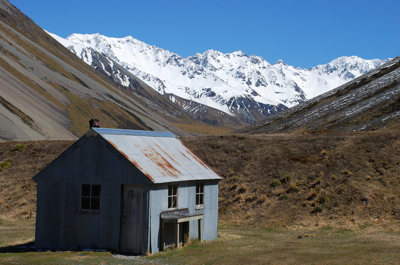 Wild Mans Hut, South Ashburton River
