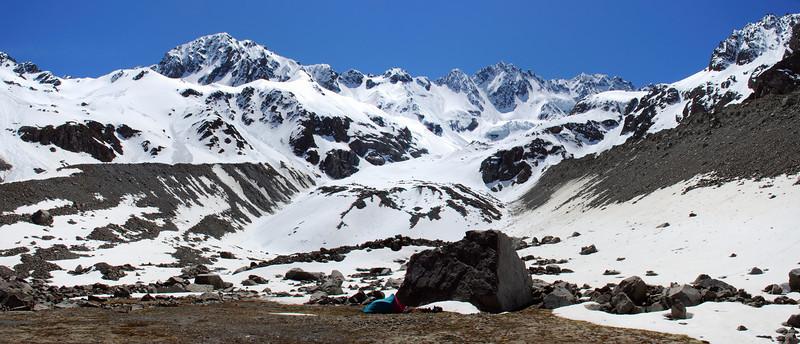 Ashburton Glacier campsite