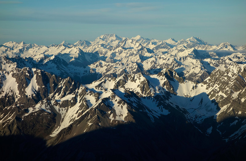 View towards Mt Cook from the south west ridge of Mt Arrowsmith