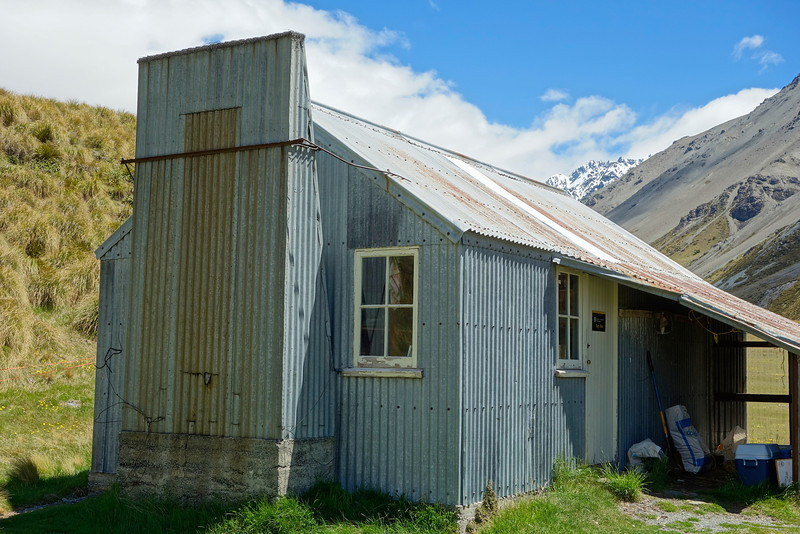 Top Hut, South Branch Ashburton River / Hakatere