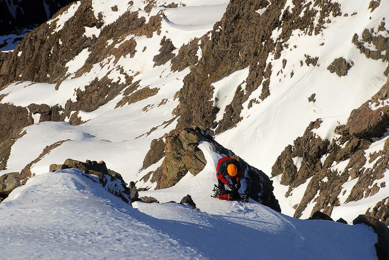 High up on Rome Ridge