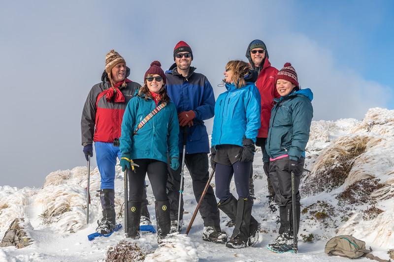 On Field Peak, Tararua Range.