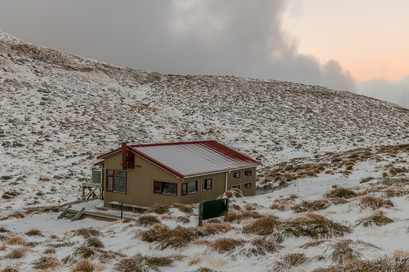 Kime Hut at dawn