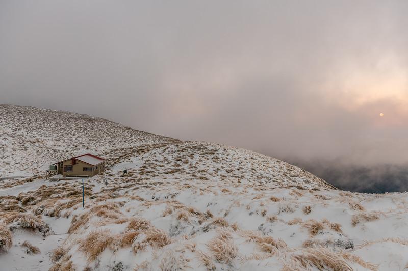 Kime Hut at dawn