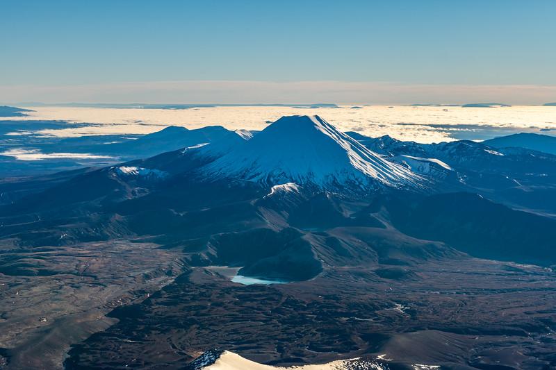 Ngauruhoe from Tukino Peak