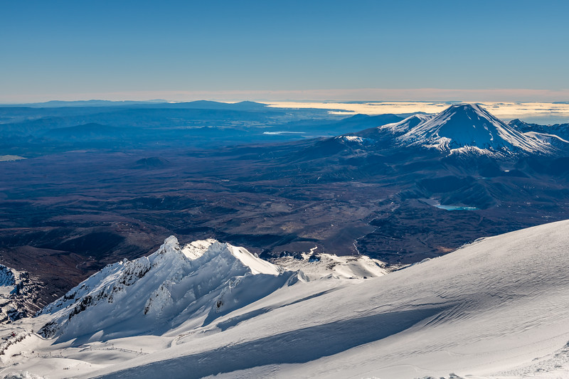 Pinnacle Ridge and Ngauruhoe