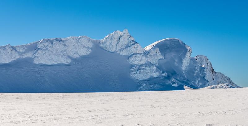 Tukino Peak and Te Heuheu
