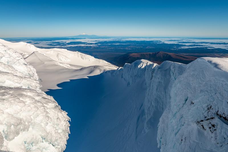 Taranaki from Tukino Peak