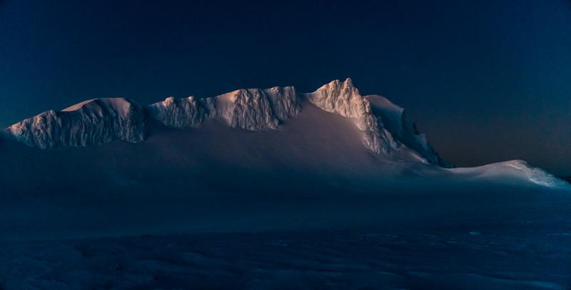 Summit Plateau and Tukino Peak.