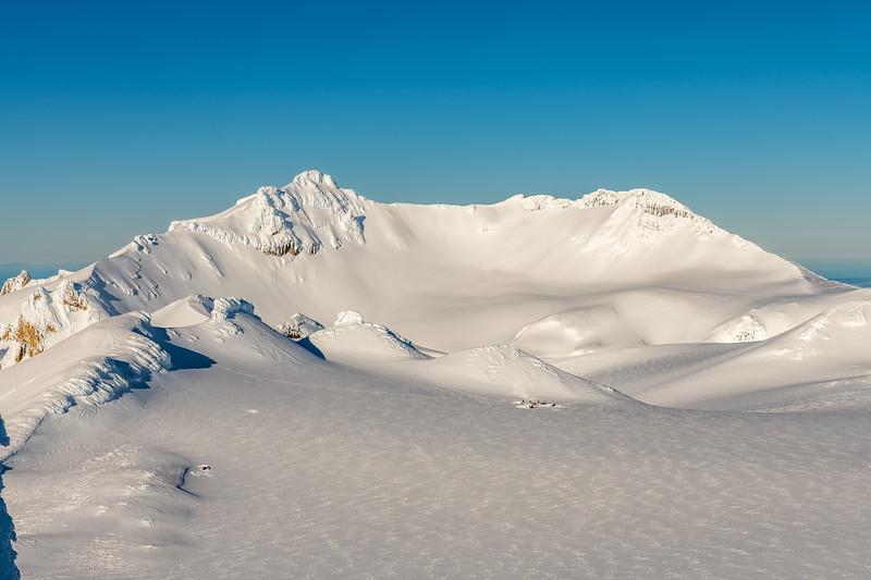 Tahurangi from the summit of Tukino Peak.