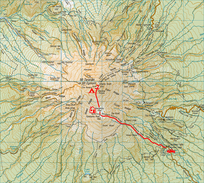 """Trip map. 1 grid square = 1km. Left click on map then select """"Sizes -> Original"""" in bottom right corner of screen to view full size."""