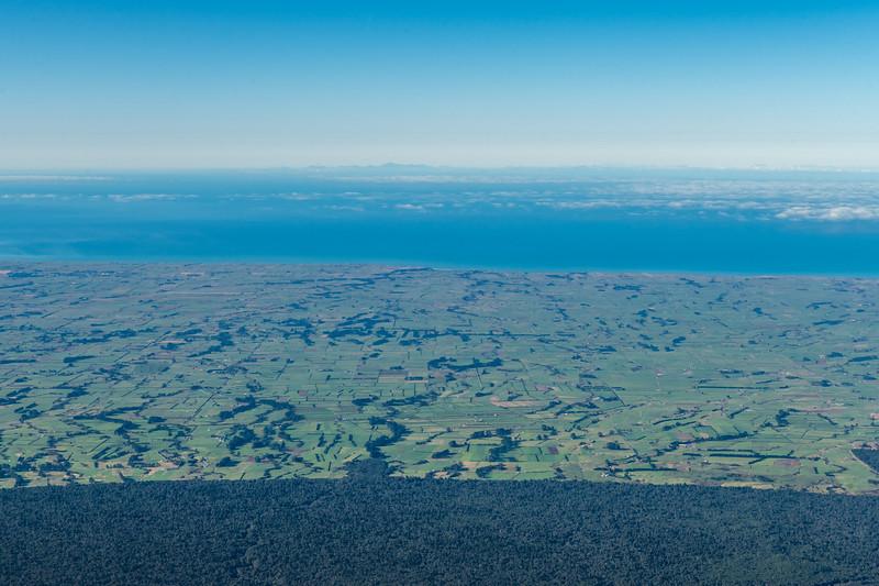 The coast south-west of Taranaki Maunga.