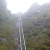 The famous Tararua Peaks ladder