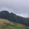 The Tararua Peaks and the ridge to Kime Hut from near Maungahuka Hut