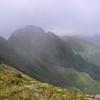 The Tararua Peaks from near Maungahuka Hut