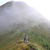 Approaching the Tararua Peaks