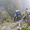 The via ferrata between the Tararua Peaks