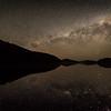 The Milky Way over Lake Waikareiti, Te Urewera National Park.