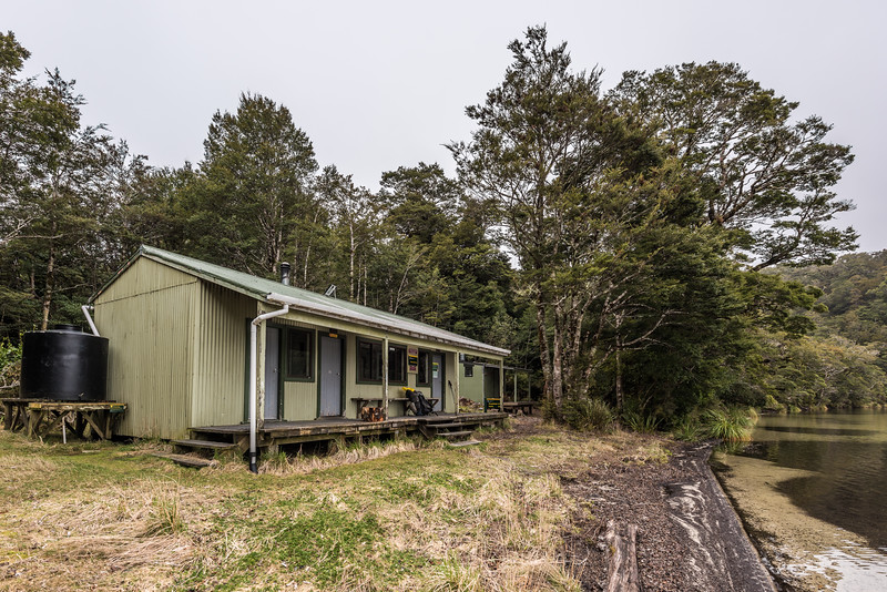 Sandy Bay Hut, Lake Waikareiti