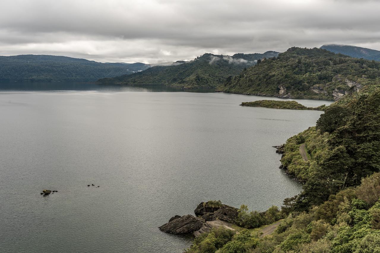 Lake Waikaremoana, Onepoto track start