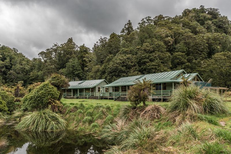 Waiharuru Hut, Lake Waikaremoana Track.
