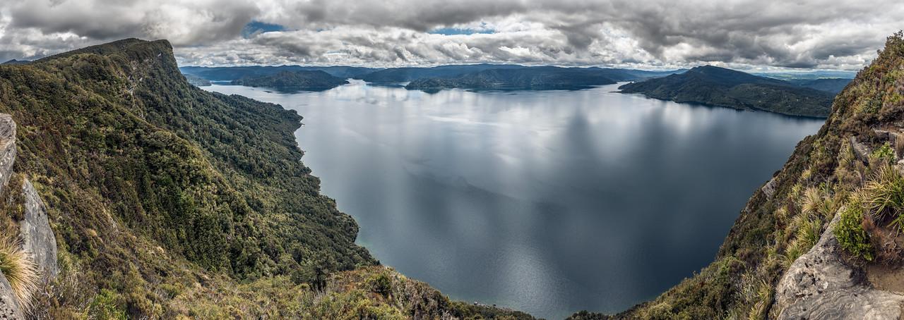 Panekiri Bluff and Lake Waikaremoana