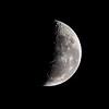 Moon over Lake Waikareiti
