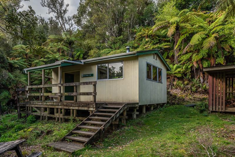 Puketotara Hut, Matemateāonga Range. Whanganui National Park.