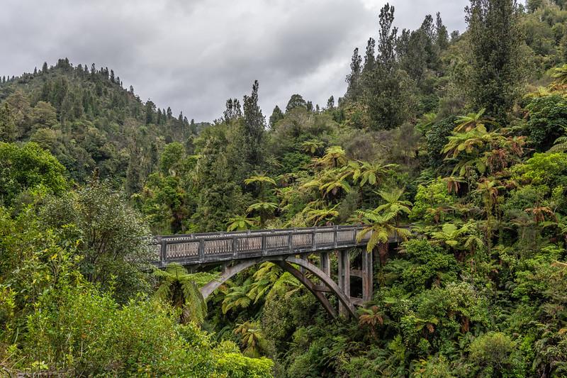 Bridge to Nowhere, Whanganui National Park.