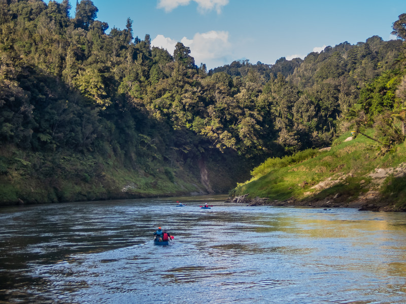 Packrafting the Whanganui River.