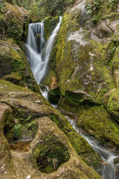 Waterfall at Bark Bay