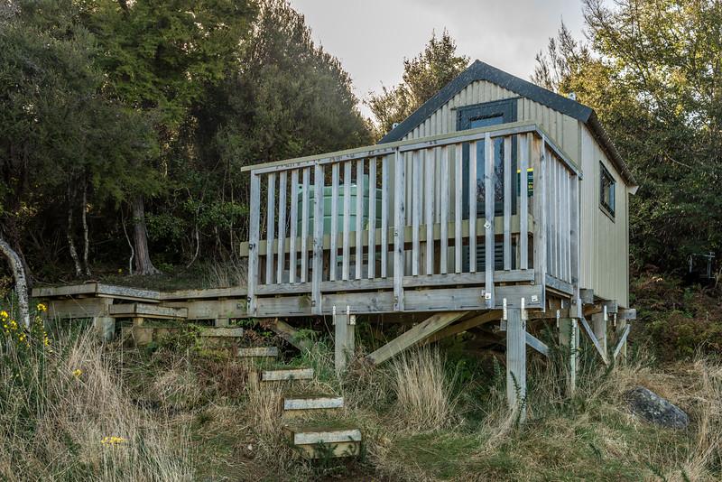 Holyolake Shelter. Abel Tasman Inland Track