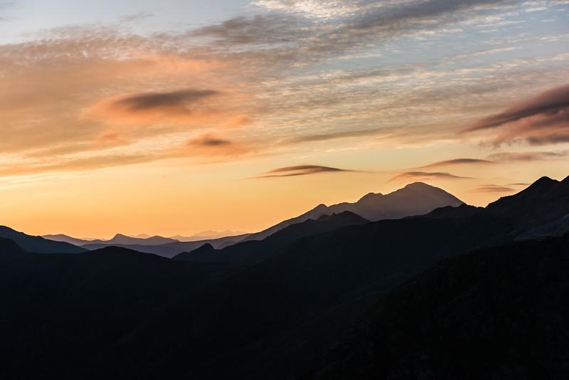 Mounty Snowdon at dawn.