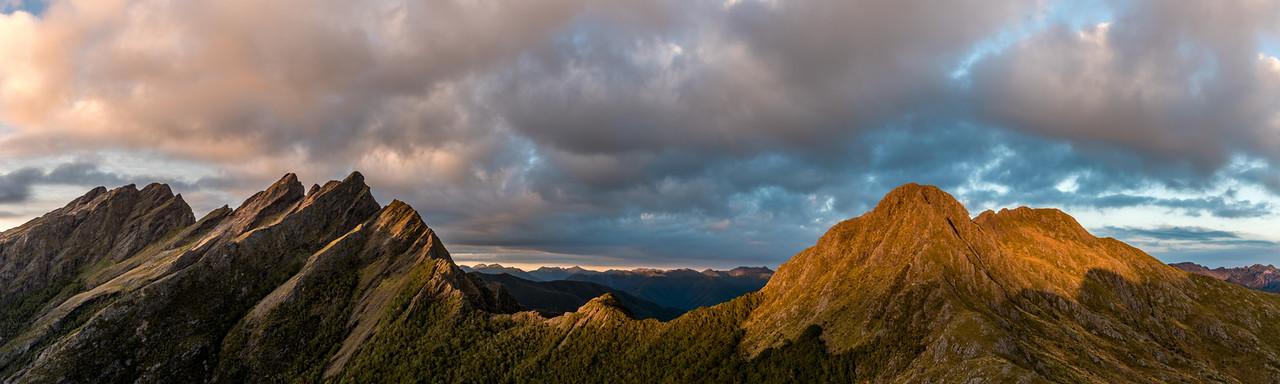 Anatoki Peak, Dragons Teeth, Mount Douglas, Trident.