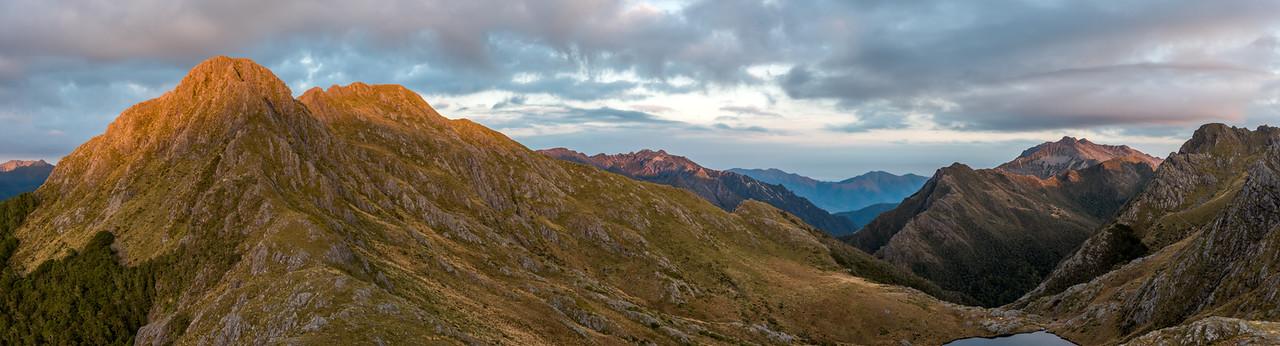 Mount Douglas, Trident, Mount Olympus, Adelaide Tarn and Lead Hills.