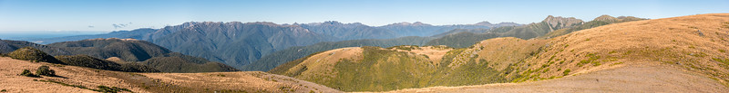 View east from Pt 1263m south-west of Perry Saddle, Gouland Range.