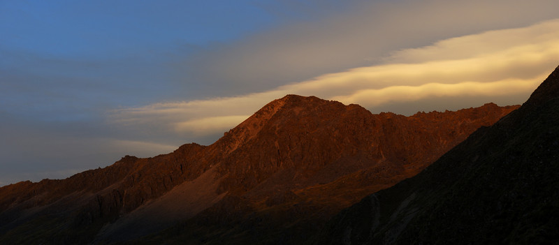 Ella Range sunset