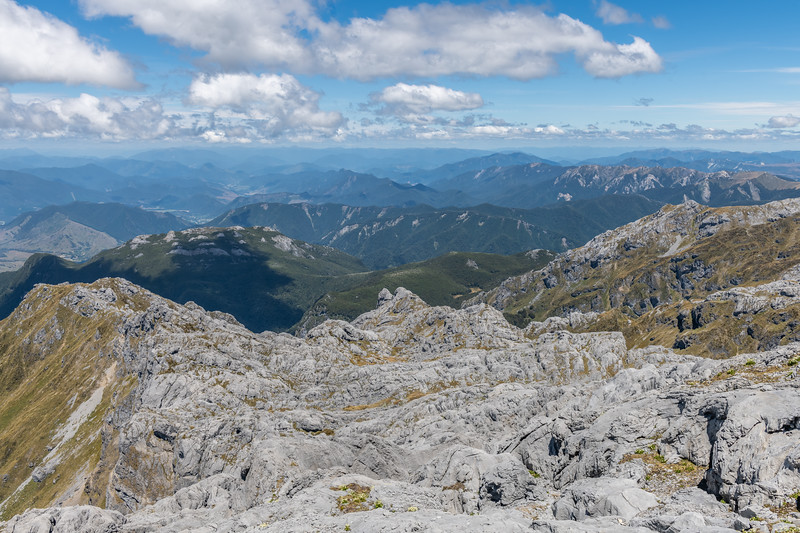 View south from the summit of Mount Owen.