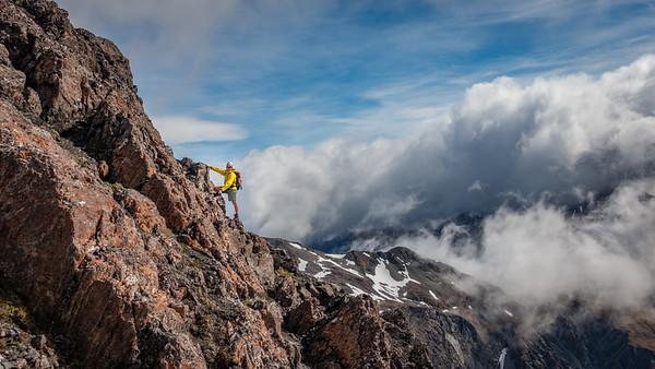 Rome Ridge - Mt Bealey 8 January 2017