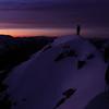 On Rome Ridge at dawn