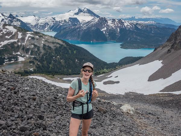 Black Tusk and Garibaldi Lake July 2018
