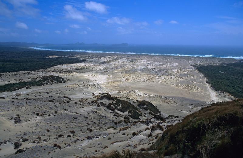Mason Bay from Big Sandhill
