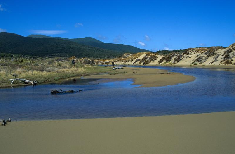 Ruggedy Stream, East Ruggedy Beach