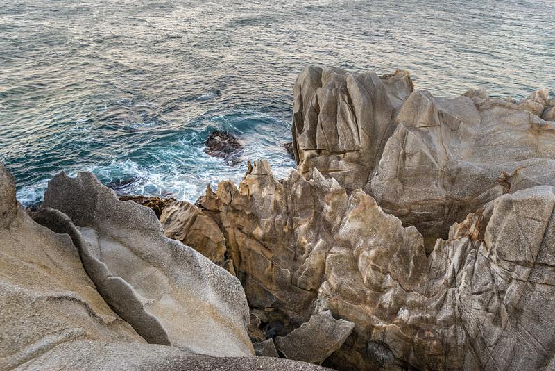 Granite coastline at Long Harry Bay