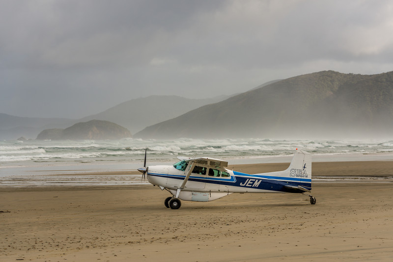 Getting ready for take-off, Mason Bay