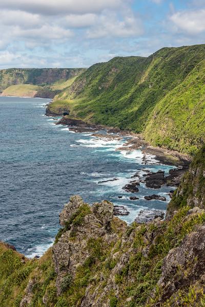 Coastline at Rangaika, Chatham Island.