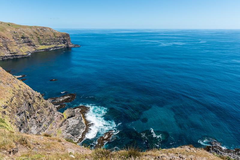 Te Whakahewa / The Horns and Cape L'Eveque, Chatham Island.