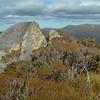 Rock outcrop on the Tin Range