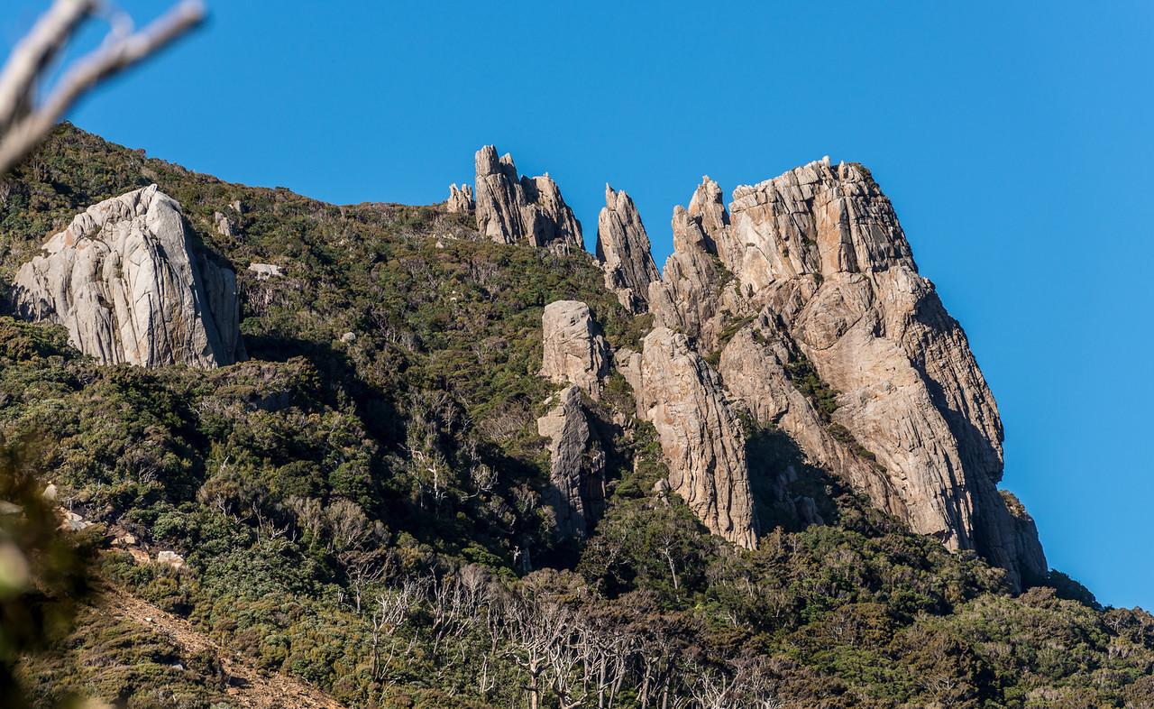 Ruggedy Mountains from Waituna Bay